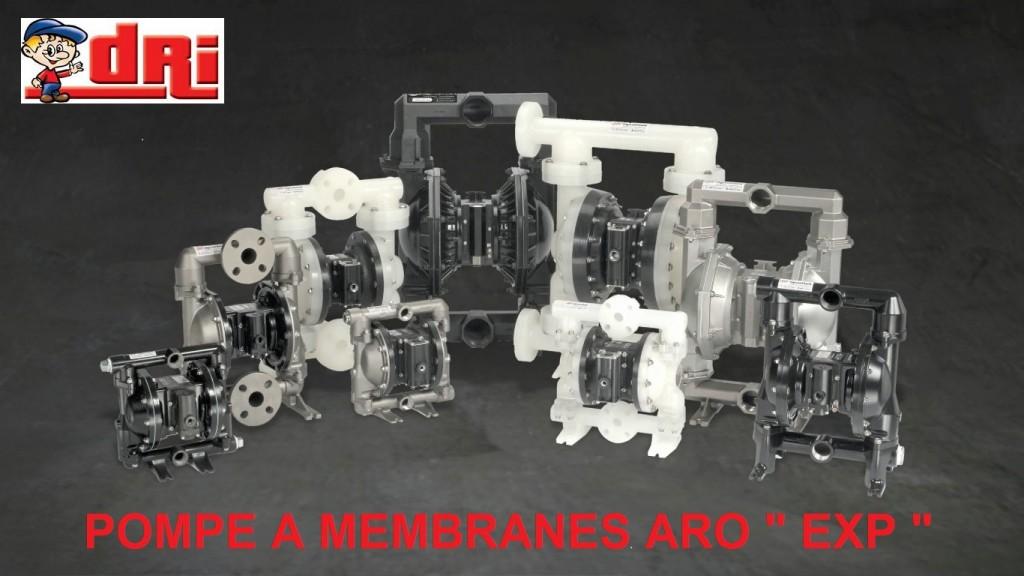 POMPE A MEMBRANES ARO