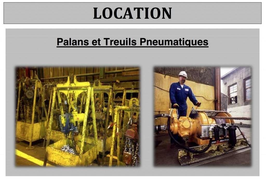 Location Palans et Treuils DRI