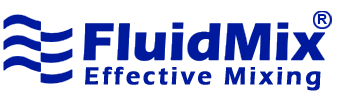 Fluid mix logo