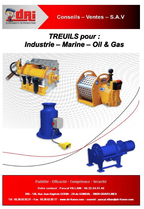 Plaquette Treuil