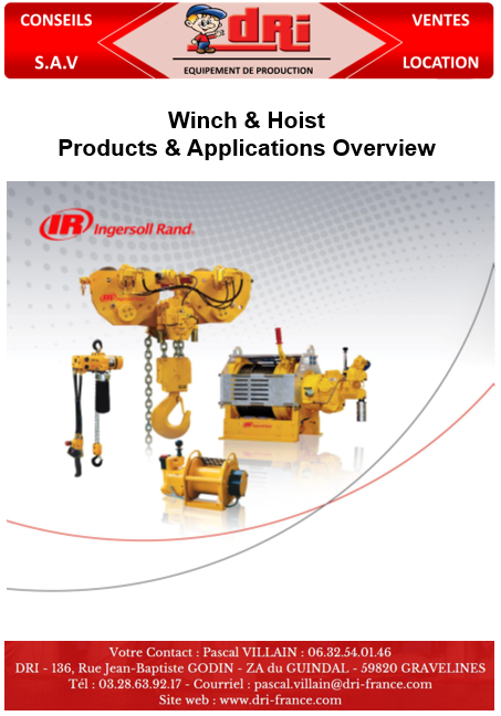 Winch and Hoist